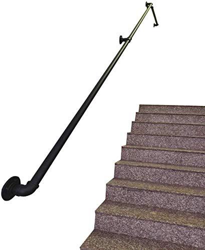 30~600 cm veiligheid leuningbescherming leuninglijst voor Anziani voor kinderen Monte leuningen van metaal voor binnen- en buitentoepassingen - gebruik in de hal, oprijplaat of trappen lijm