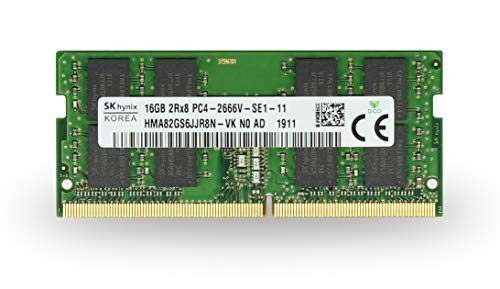 Adamanta 16GB (1x16GB) HP Certified Hynix Laptop Memory Upgrade Compatible for HP Pavilion 17 & Omen 15 DDR4 2666Mhz PC4-21300 SODIMM 2Rx8 CL19 1.2v RAM DRAM