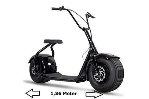 E-Scooter Chopper N1, E-Motor, Elektroroller, E-Roller, E-Tretroller,Elektro-Roller, Produktvideo, schwarz