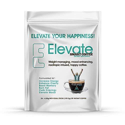 ELEVACITY Elevate Smart Coffee Individual serving stick packs