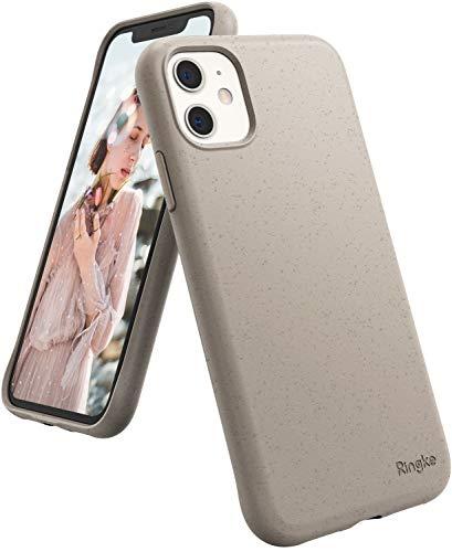 Ringke Air-S Diseñado para Funda Apple iPhone 11, Delgada Ligera Carcasa iPhone 11 6.1' Protección Resistente Impactos TPU Funda para iPhone 11 2019 - Sand Stone