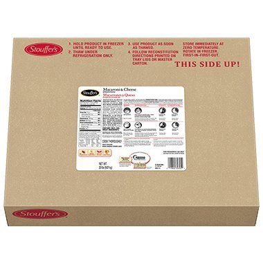 Stouffer's Traditional Macaroni and gift Cheese per 4 Kansas City Mall case 80 oz.