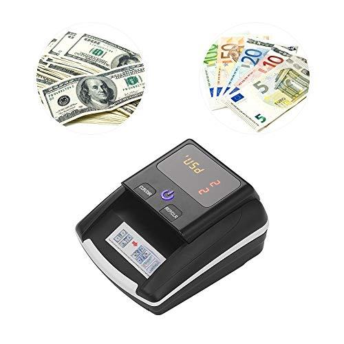 Billetes Falsos Detector Contador Portátil Contador De Dinero Detector De Dinero Efectivo Contador De Billetes Contador De Billetes Con Uv/Mg/Ir/Dd Detector De Billetes Falsos