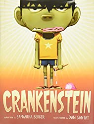 Crankenstein book about being grumpy