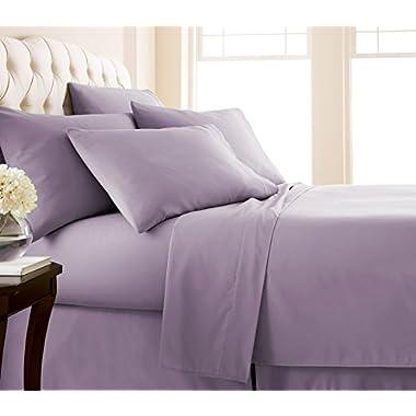 Southshore Fine Linens - 6 Piece - 21 Inch - Extra Deep Pocket Sheet Set (Queen, Lavender)
