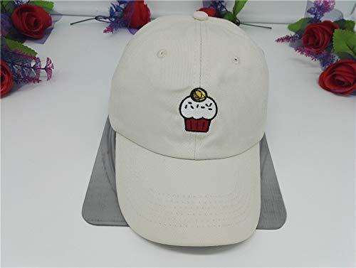 N / A Baseballmütze, Golfmütze, Sonnenhut, alle JahreszeitenKD Baseballmützen gebogenesVisier Papa Hüte Hüte Liebe Basketballmütze