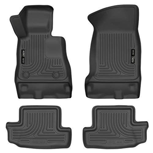 Husky Liners Fits 2016-20 Chevrolet Camaro Weatherbeater Front & 2nd Seat Floor Mats