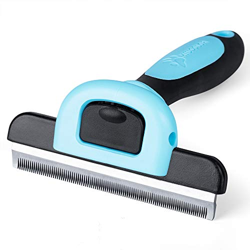 MIU COLOR Dog Deshedding Brush, Desheeding Tool for Large Dogs, Short Haired Dogs Cats Brush for Removing Loose Hair, Dog Deshedder