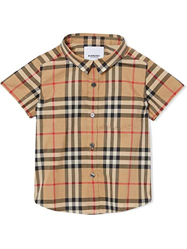 BURBERRY Luxury Fashion Baby - Jungen 8014136 Beige Hemd |