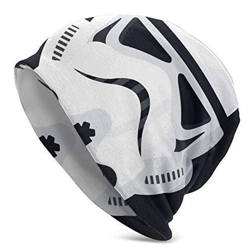 Star Wars Stormtrooper Mützen Herren Damen Cap Dünn Slouch Beanie Kopfbedeckung...