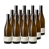 Vin de Savoie Chignin Anne de la Biguerne Blanc 2018 - Domaine Jean-François Quénard - Vin AOC Blanc de Savoie - Bugey - Cépage Jacquère - Lot de 12x75cl