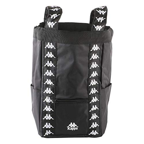 Kappa Authentic Aninges 00 - Mochila para mujer, color blanco y negro