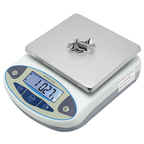 CGOLDENWALL High Precision Lab Analytical Electronic Balance Digital Precision Scale Laboratory Precision Weighing Electronic Scales Balance Jewelry Scales Gold Balance Kitchen Scales