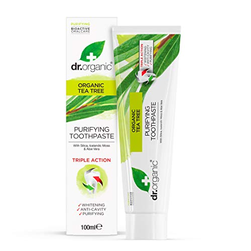 Dr Organic Tea Tree Dentifricio
