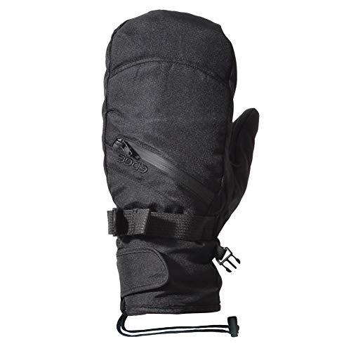 REVERSE EDGE(リバースエッジ) スノーボード グローブ メンズ レディース インナー付き 手袋 5本指 ミトン スキー スノボ glove-re-XL-EGL1546-BK