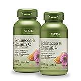 GNC Herbal Plus GNC Herbal Plus Echinacea & Vitamin C - Twin Pack