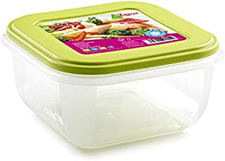 وعاء بلاستيك أخضر لحفظ الطعام