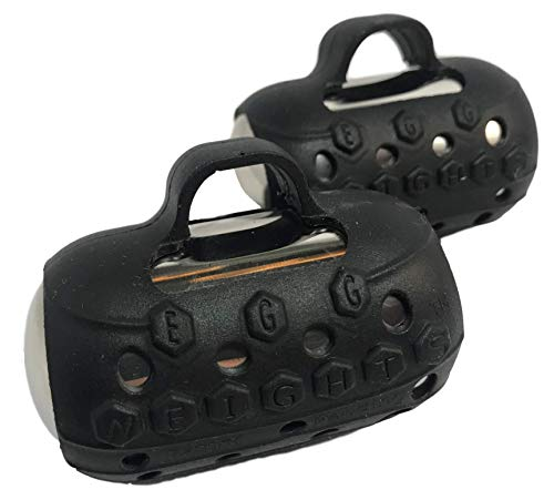 Egg Weights 3.0 Set (1.5 Each Egg) Hand Dumbbell Sets for Men and Women, Handheld Free Weights for Kickboxing, Shadow Boxing, Yoga, and More (3 pounds - 1.5 pounds Each) Next Generation Dumbbell