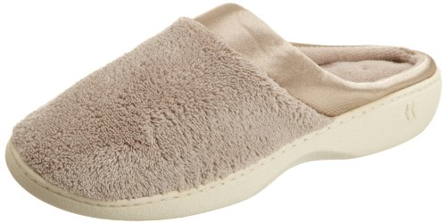 Isotoner , Damen Hausschuhe Braun taupe Women's Size 6.5-7