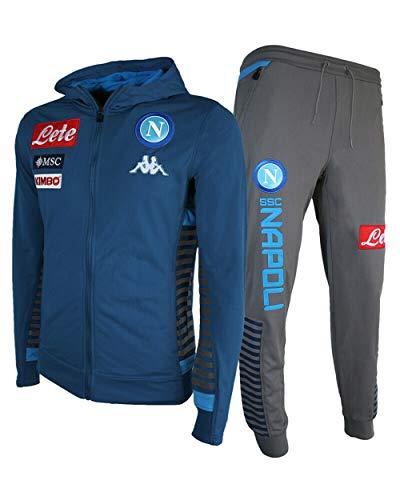 Kappa Abeod 2 Napoli Trainingsanzug, Bleu/bleu/gris, M