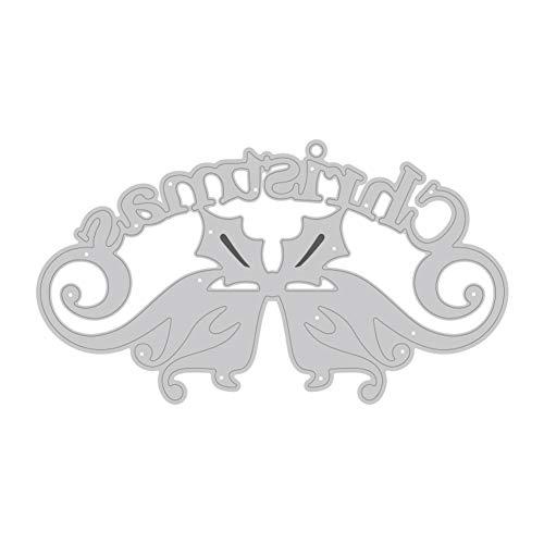 TankMR kerstbal/boom van metaal Muore snijden, sjabloon voor scrapbooking Fai-da-Te album van papier Art Craft Decoration