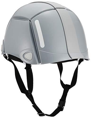 TOYO 防災用折りたたみヘルメット ブルーム グレー No.100