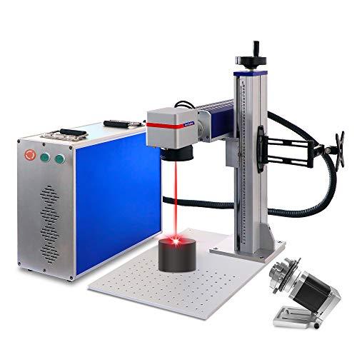 Macchina per marcatura laser in fibra da 50 W per incisore laser a spaccatura in metallo per macchina per gioielli (50 W 110 * 110 mm JPT)