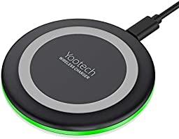 Yootech Wireless Charger Qi-Certified 7.5W Wireless Charging Compatible with iPhone