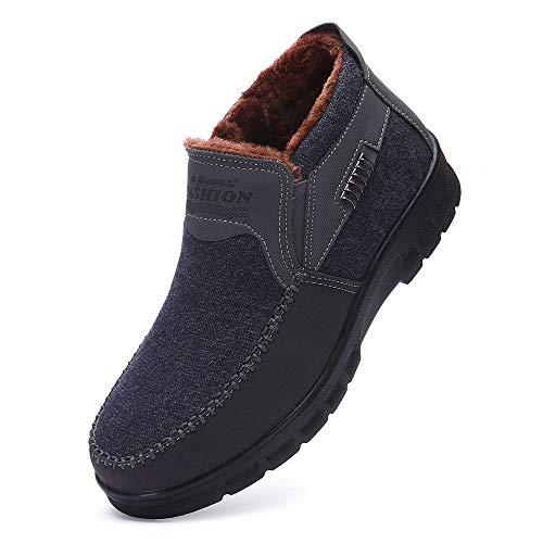 DAY.LIN schuhe herren Männer Werkzeug Schuhe Leder atmungsaktive Outdoor-Schuhe handgefertigt Herren Dicke Sohle tragen beständig wandern Freizeit Schuhe