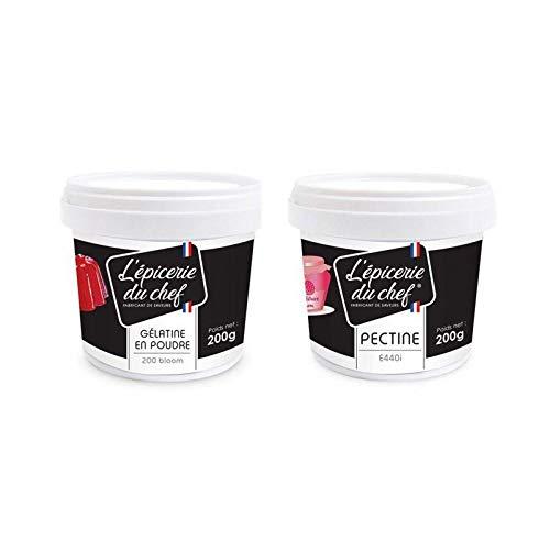 Pectina 200 g + gelatina 200 g