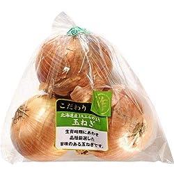 北海道産など 【袋入】玉ねぎL3個 1袋