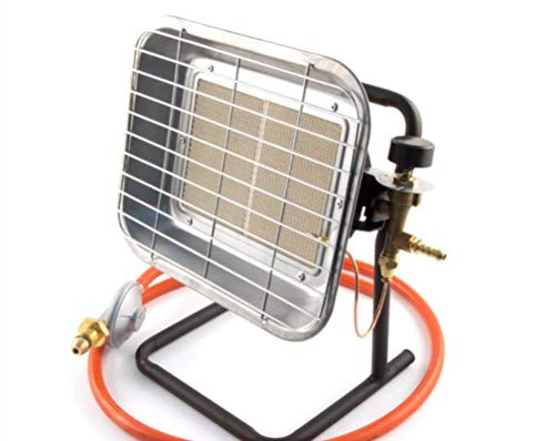 Portable LPG Propane Gas Outdoor Space Heater For Garage Market Stall Patio with pol type regulator