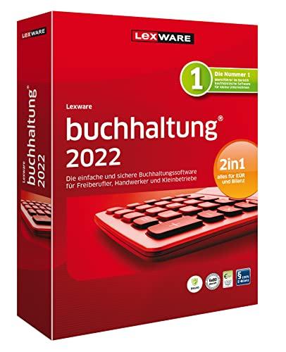 Lexware buchhaltung 2022|basis-Version Minibox (Jahreslizenz)|Einfache Buchhaltungs-Software für Freiberufler, Handwerker, Kleinunternehmen und Vereine|standard|1 Gerät|1 Jahr|PC|Disc|Disc