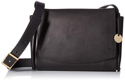 Skagen Damen Umhängetasche, Handtasche, schwarz, Einheitsgröße