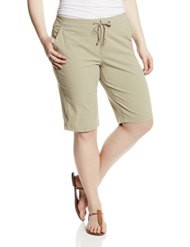 Columbia Women's Anytime Outdoor Long Short, Tusk, 12W x 13 L