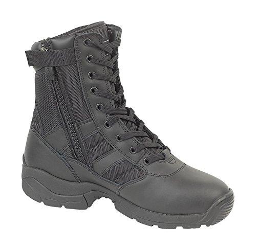 Magnum Panther 8' Hombre Cremallera Botas Zapato Invierno Negro 48