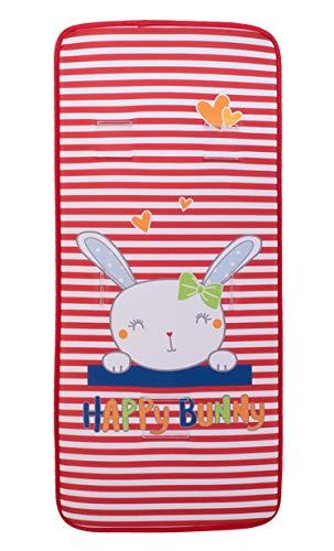 Colchoneta Silla Paseo Universal Recta (Happy Bunny)
