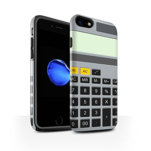 Stuff4 telefoonhoesje/Cover/Skin/IP-3DTBG / sleutels/knoppen collectie Apple iPhone SE 2020 Rekenmachine