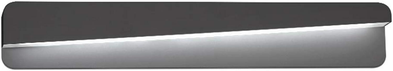 LYP-Wandlampe Badezimmerspiegel Frontscheinwerfer Spiegel Scheinwerfer Wasserdicht Anti-Fog Kosmetikspiegel Schrank Beleuchtung Weies Licht Eisen + Acryl Bad (gre   7W 40cm)
