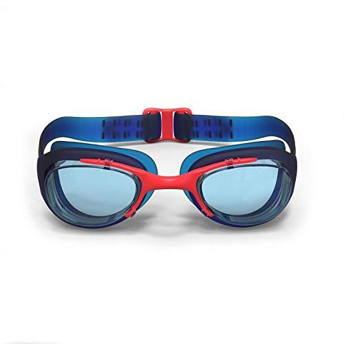 nabaiji XBASE JUNIOR Schwimmbrille Antifog 100% UV Schutz f�r Kleinkinder einstellbar Blau