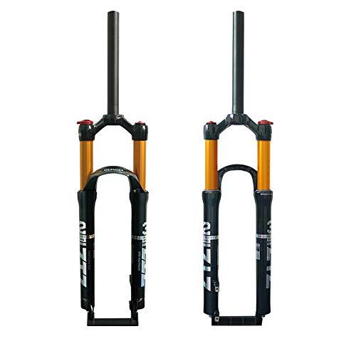 ZTZ 【US in Stock Lega di Magnesio Mountain Forcella Anteriore Pressione Aria Ammortizzatore Forcella Accessori Bicicletta 26 Lock Out