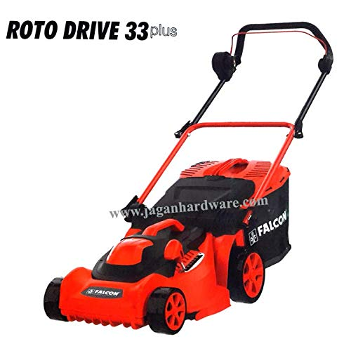Falcon Jagan Hardware Electric Lawn Mower Roto Drive-33