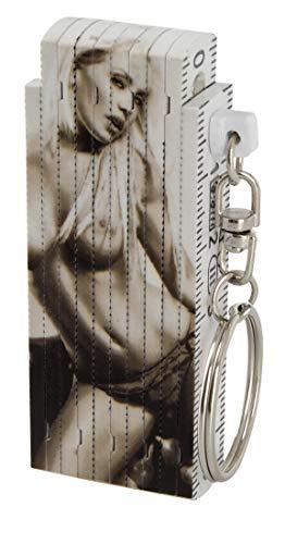 Schlüsselanhänger Minizollstock Erotische Sexy Frau Spassartikel Geburtstagsgeschenk