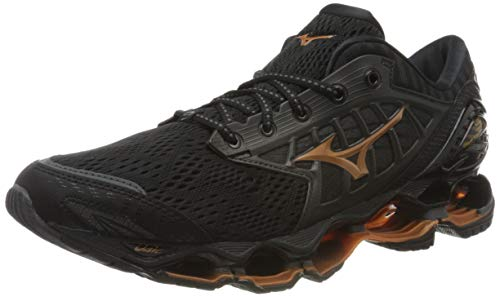 Mizuno Wave Prophecy 9, Zapatillas de Running para Hombre, Negro (Black/Shadow/10135 C 51), 43 EU