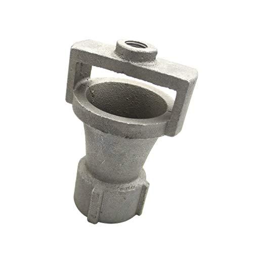 """Meter Star Einlass 1"""" BSP und Auslass 1/4"""" BSP Gewinde Aluminium Sandguss Venturi Brennerkopf Hardware Bearbeitung Industrie Heizung oder Kesselgaseingang ohne Düse"""