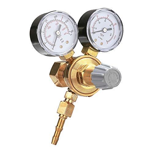Hengda Druckminderer MINI Druckregler für Argon/CO2 Schutzgas Zu MIG/MAG WIG TIG Schweißgerät Mehrwegflaschen