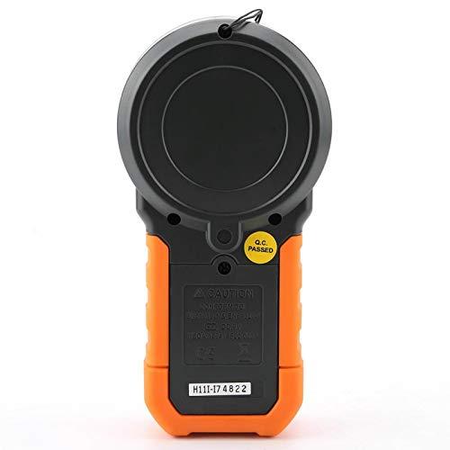 Luxmetro digitale, esposimetro, multifunzione con LED, sensore leggero e impermeabile, lunga garanzia per tutte le sorgenti luminose(PM6612)