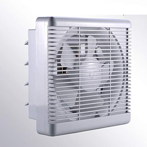 j Ventilador de baño de 240 mm, aspiración, VMC, para Cocina, Aseo, despacho. Silencioso, bajo Consumo de energía, Volumen de Aire: 500 m³ / h, 30W