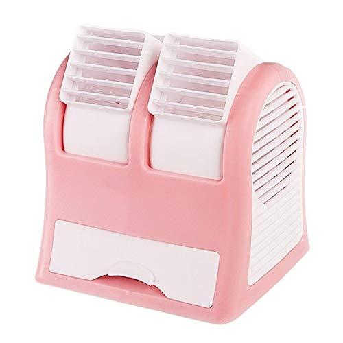 Ventilador de mano USB Sin Hojas Pequeño Ventilador, Escritorio Portátil De Refrigeración De Aire Acondicionado Ventilador, Refrigeración Oficina Compartida Silencioso Ventilador Grande Del Poder Del