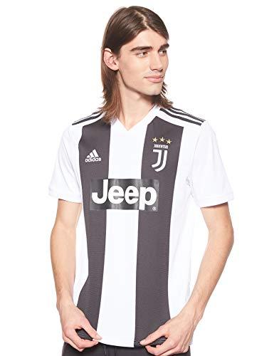 adidas JUVE H JSY T-Shirt, Hombre, Black/White, S